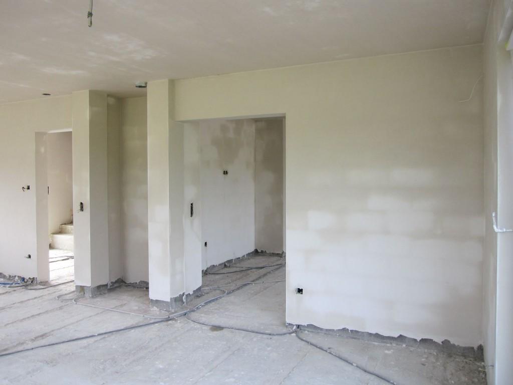 Little construct plafonnage gyproc for Plafonnage mur exterieur