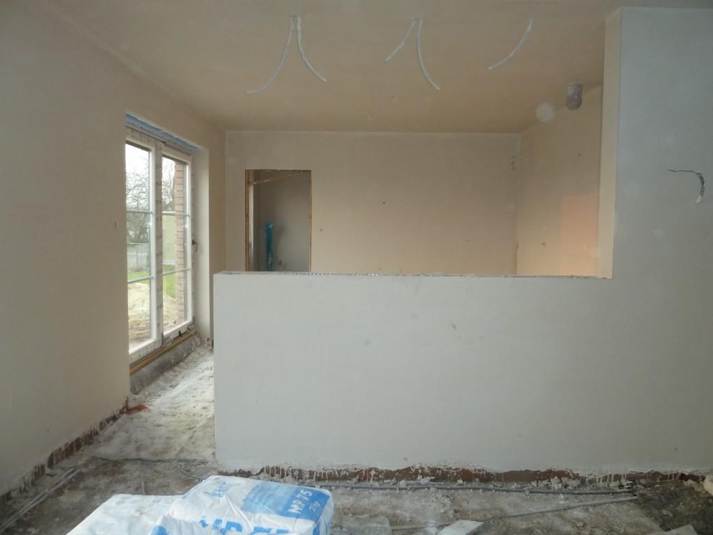 Little construct plafonnering gyproc for Crepire un mur interieur